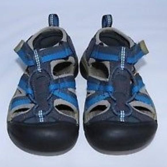 269671655346 Keen Other - KEEN Kids Sandals Blue Hiking Waterproof Trail